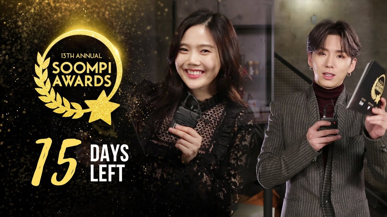 15 Days Left To Vote In The 13th Annual Soompi Awards!