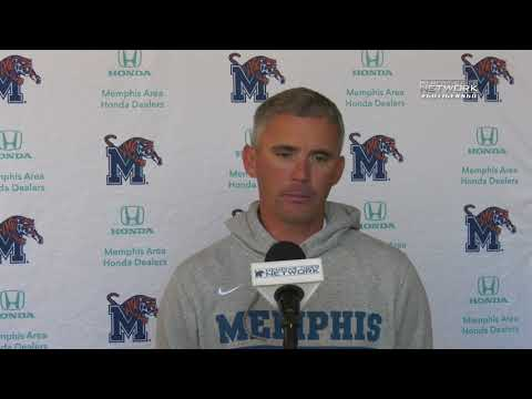 Memphis Football: Coach Norvell Tulsa Press Conference