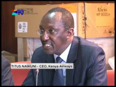 KQ'S TITUS NAIKUNI FACES OFF WITH PARLAIMENT'S LABOUR COMMITTEE