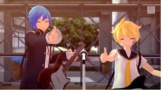 Doubleganger Spoofing Genga English dub Len Kaito Cover