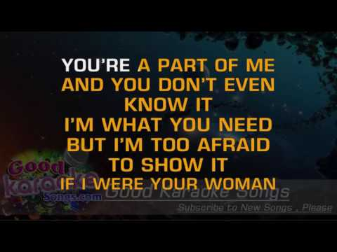 If I Were Your Woman  -  Gladys Knight and The Pips (Lyrics KAraoke) [ goodkaraokesongs.com ]