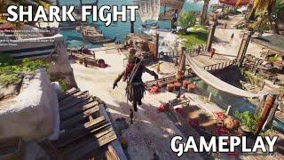 Assassin's Creed Odyssey -  Shark Fight, Leap of Faith & Mercenary Kill