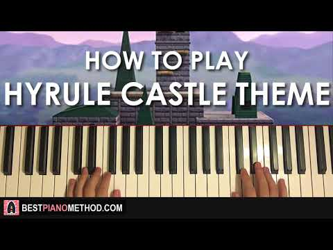 HOW TO PLAY - Zelda Main Theme (Piano Tutorial Lesson)