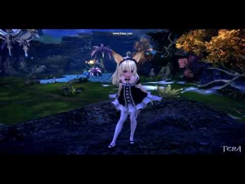 TERA The Exiled Realm of Arborea Elin maid costume
