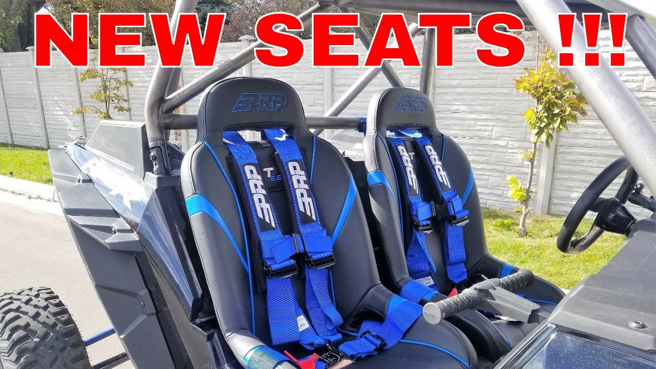 2018 POLARIS RZR XP TURBO S PRP SEATS AND BELTS!!!