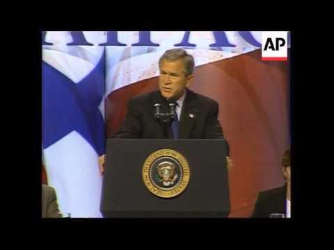 Bush Speaks At American-Israel Meeting