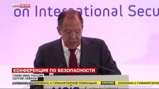 Лавров: Конфликт на Украине не имеет военного решения 16.04.15