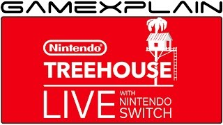 Treehouse Live with Nintendo Switch Announced for Jan 13th