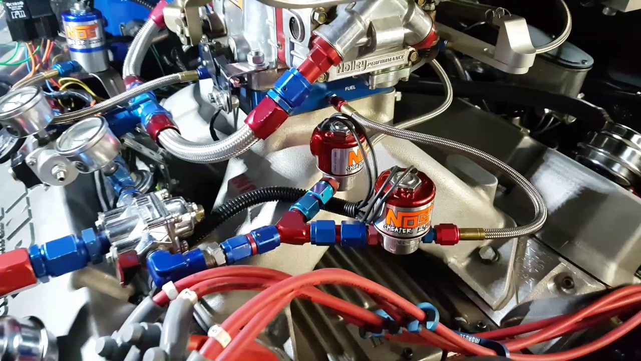 hight resolution of nitrous dual stage progressive controller test setting percentage