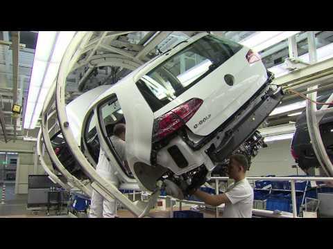 Volkswagen e-Golf Production Wolfsburg plant
