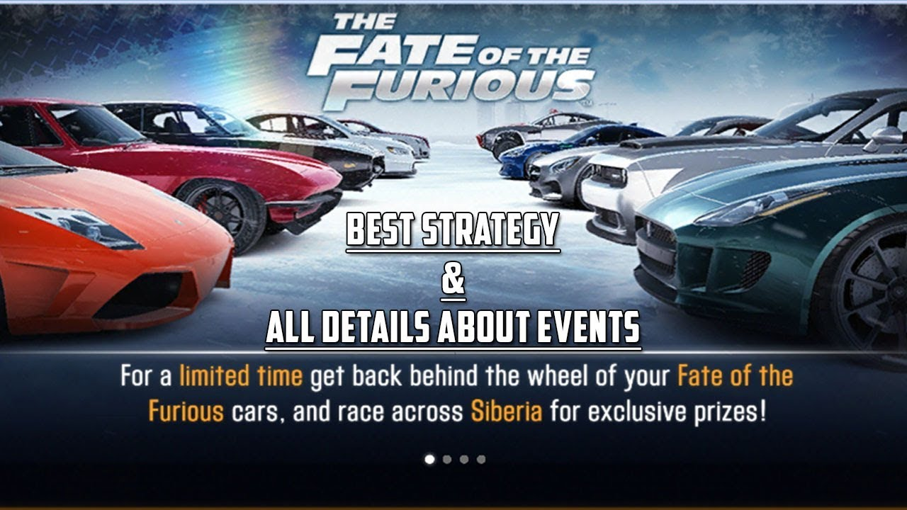CSR Racing 2 | Fate & The furious Finale - Best strategy & All info about  events!! by Mille CSR2