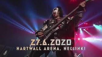Rocklegenda KISS viimeistä kertaa Suomeen kesäkuussa 2020!