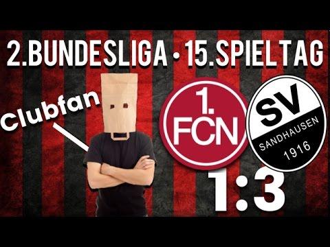 15. Spieltag • 1.FC Nürnberg : SV Sandhausen