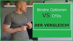 Binäre Optionen VS CFDs im Vergleich! Vor und Nachteile der Finanzderivate