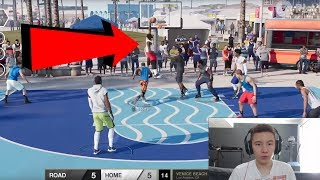 NBA LIVE 18 EXCLUSIVE PARK GAMEPLAY!! 2K18 NEWS WHERE YOU AT!? | PeterMc