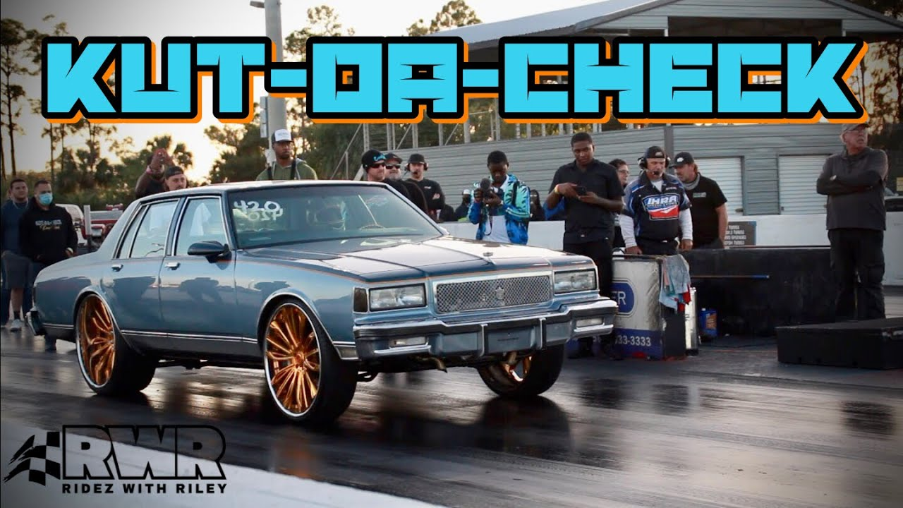 KUT DA CHECK RACING BOOSTED BOX CHEVY RETURNS TO THE BIG RIM RACING SCENE FASTER THAN EVER!!!!