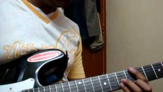 Wake Up Sid Guitar Cover\tutorial