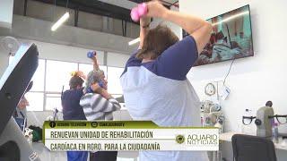 Renuevan Unidad de Rehabilitación Cardíaca en Rgro. para la ciudadanía
