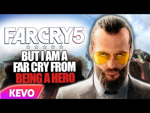Far Cry 5 but I am a far cry from being a hero