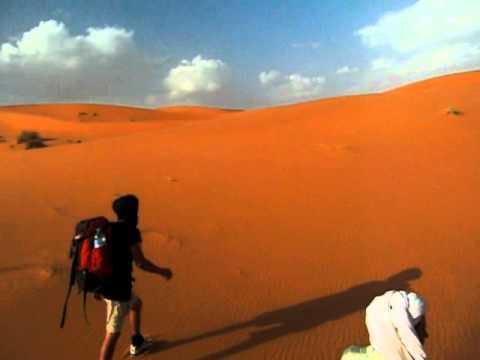 Trekking Across The Sahara On Dromedaries!