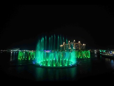 The Palm Fountain in Dubai joins Tourism Ireland's Global Greening 2021