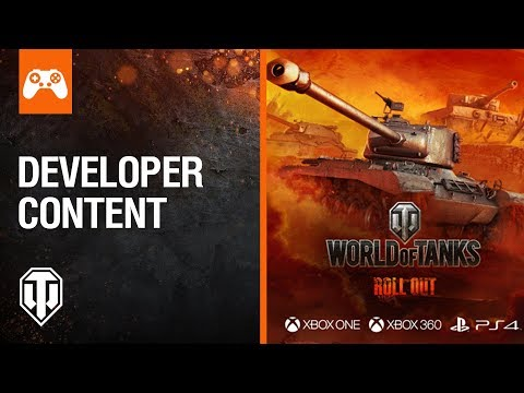 World of Tanks Console Developer Stream - Update 4.4