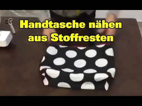 handtasche selber n hen f r anf nger tasche n hen youtube. Black Bedroom Furniture Sets. Home Design Ideas