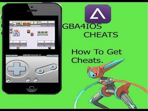 How To Get <b>Cheats</b> for <b>GBA4IOS</b> (Windows Tutorial) - YouTube