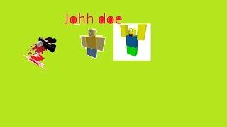 Roblox JOHH Doe Jae Doe e 1x1x1 hackers erro de vídeo Jane Doe não receber a mensagem