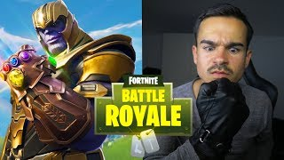 ÖRNI GEGEN THANOS !! 🔥🔥🔥 Fortnite Battle Royale