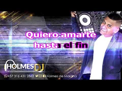 DÉJATE AMAR / LA INDIA / Video Liryc letra / Holmes DJ
