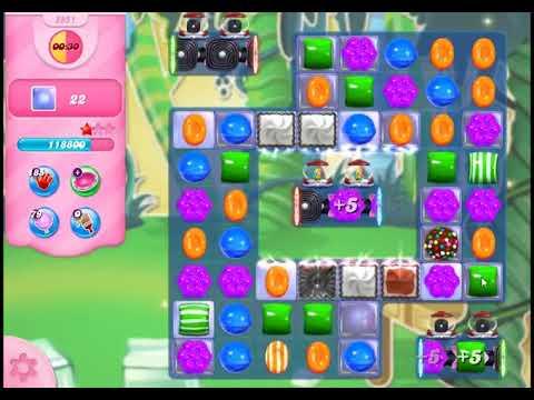 Candy Crush Saga Level 2951 - NO BOOSTERS