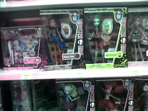 Monster High Venus And Robecca Hit The Shelves In Walmart Canada!!