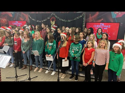Y102.5 Christmas Live with Daniel Island School