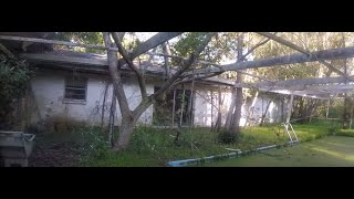 abandoned house, cesspool, power, commentary