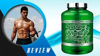 Scitec Nutrition 100% Whey Isolate Review | Sompare.com