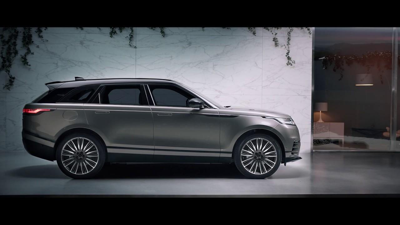 New Range Rover Velar >> Range Rover Velar - Design - YouTube