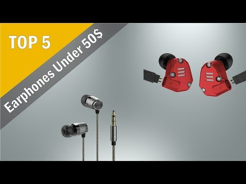 Top 5 Earphones Under 50$ From Aliexpress (Good quality earphones from China)