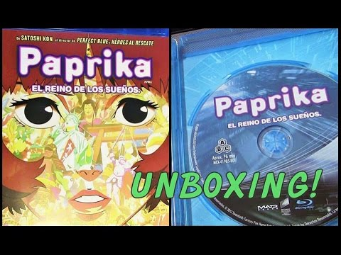 Unboxing PAPRIKA :El Reino de los Suenos Blu Ray
