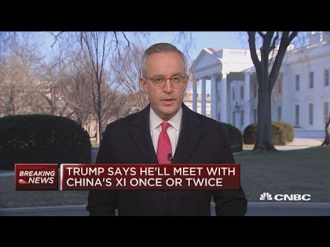 President Trumps: He might meet with Xi more than once