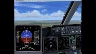 Полет на MD-11 посадка в FSX