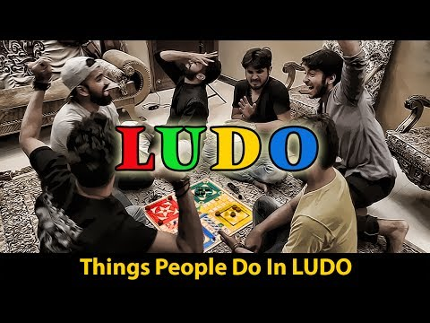 LUDO | THINGS PEOPLE DO IN LUDO | Karachi Vynz Official