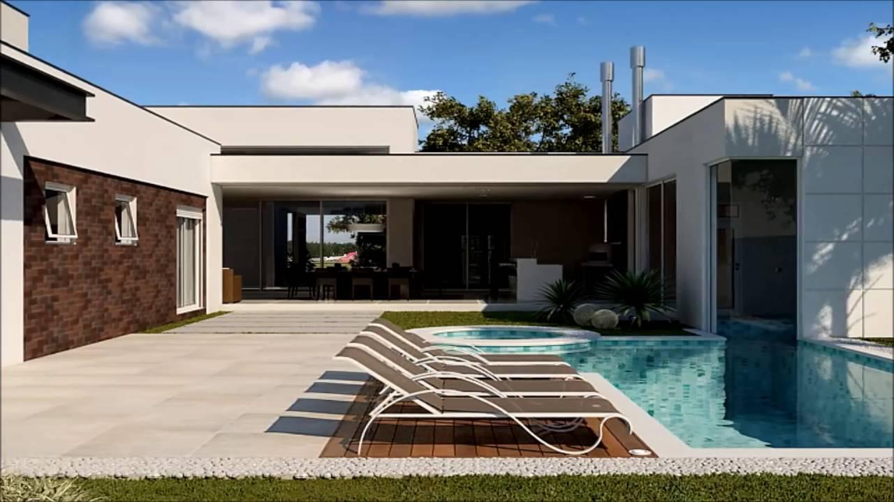 Santoro arquitetura e construtora casa contempor nea for Casa contemporanea