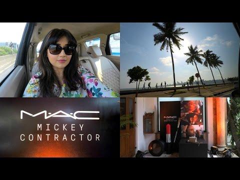 VLOG : MAC Mickey Contractor Launch | corallista