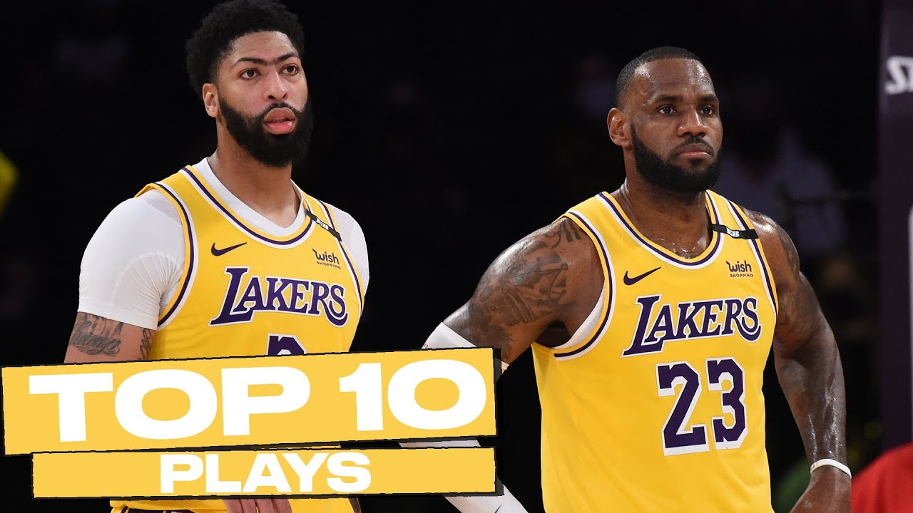Top 10 Los Angeles Lakers Plays of The Year! 🔥