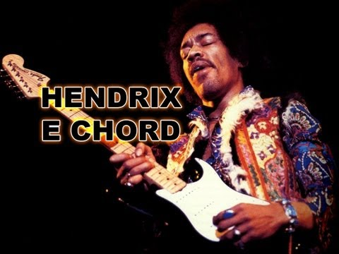 E7#9 (Hendrix E) Jazz Chord Gone Psychedelic Rock - Guitar Lesson