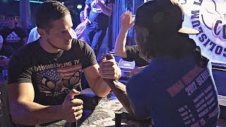 Arm Wrestling in Strip Club 2019