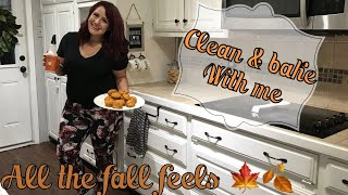CLEAN WITH ME // WATCH ME CLEAN// FALL CLEAN WITH ME