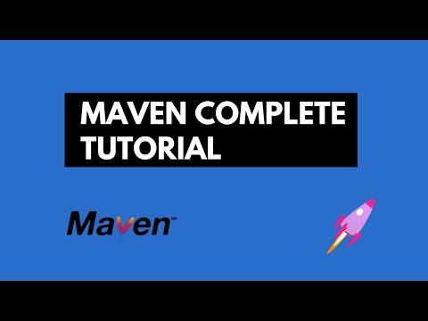 Maven Complete Tutorial with IntelliJ