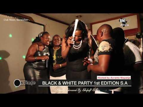 Black & White Party :  Chairman One Heart n'omugaga wa Rofika International  beraze elyanyi